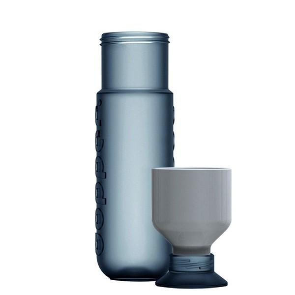 Dopper water bottle, и бутылка для воды, и бокал для питья от Rinke van Remortelm